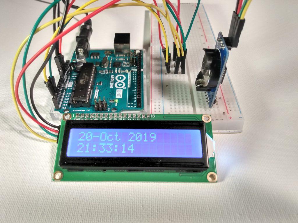 arduino-DS3231-rtc-i2c-lcd